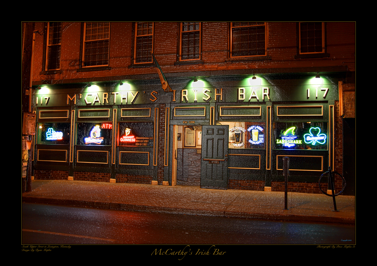 McCarthys Irish Bar Lexington, KY