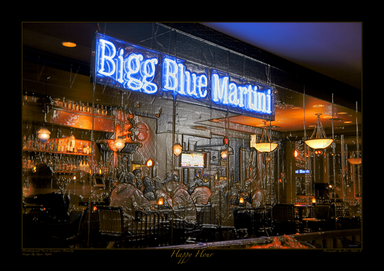 Big Blue Martini In Lexington, KY