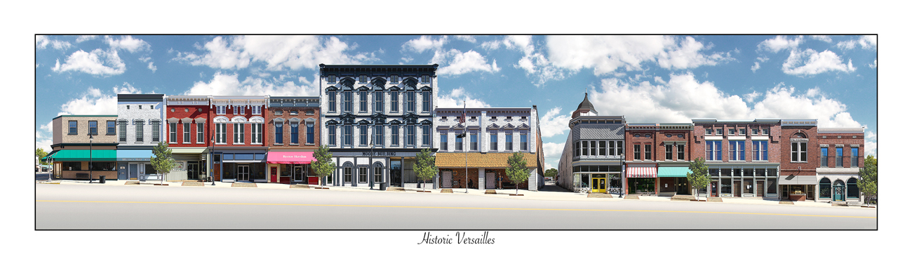 Historic Downtown Versailles, KY
