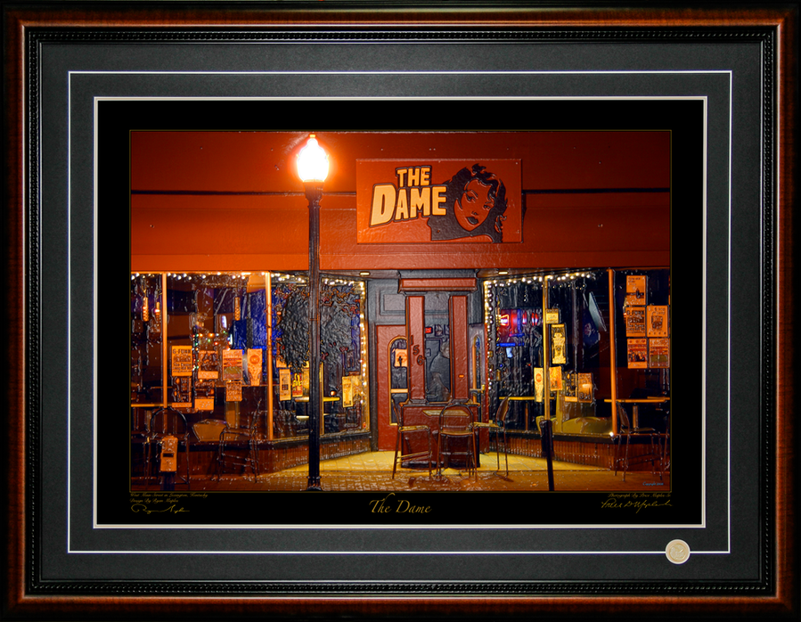 The Dame Photograph By Price Maples Sr. And Design By Ryan Maples And Framed By Price Maples Sr. Art & Framing Custom Frame Shop And Art Gallery In Lexington, Ky