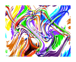 The Celebration Abstract