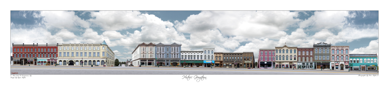 Historic Downtown Georgetown, KY
