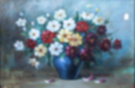 Floral Oil Paintings At Price Maples Sr. Art & Framing Custom Frame Shop And Art Gallery In Lexington, Ky