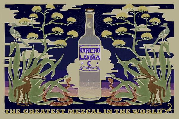 Rancho de la Luna Mezcal - The Greatest Mezcal in the World Andrea Good