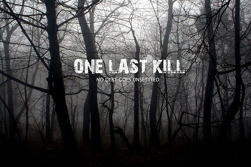 One Last Kill Blu-Ray Disc