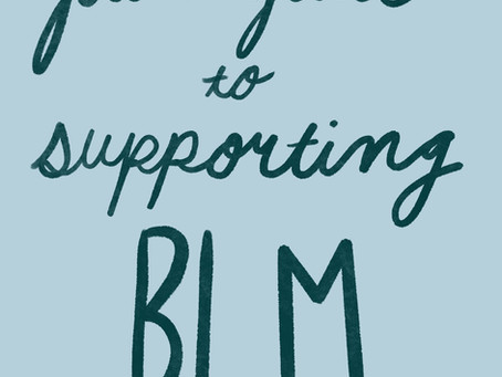How You Can Support BLM!