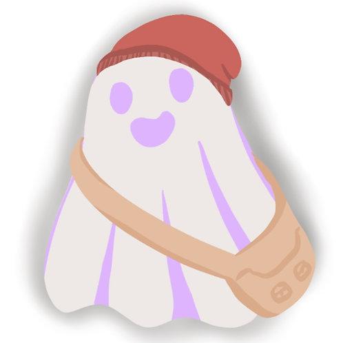Indie Ghostie Sticker