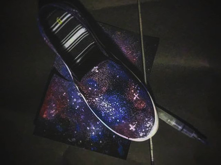 Galaxy Shoes: A Process