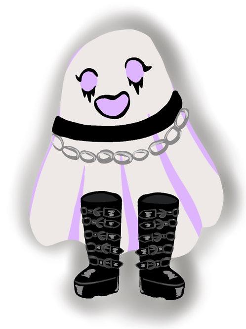 Goth Ghostie Sticker