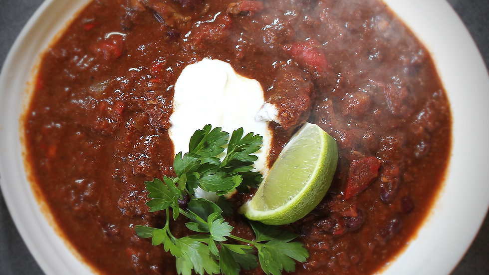 Rich Chuck Steak Chilli