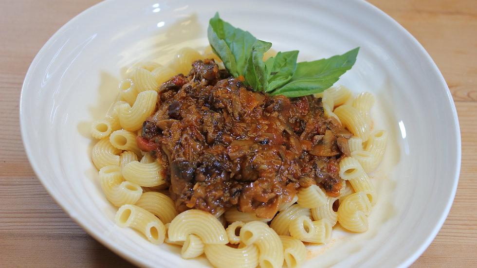 Mushroom Ragu Pasta Sauce