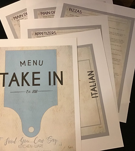 Take-In Menus for Trader Joe's {a unique take in service to solve YOUR dinner Di