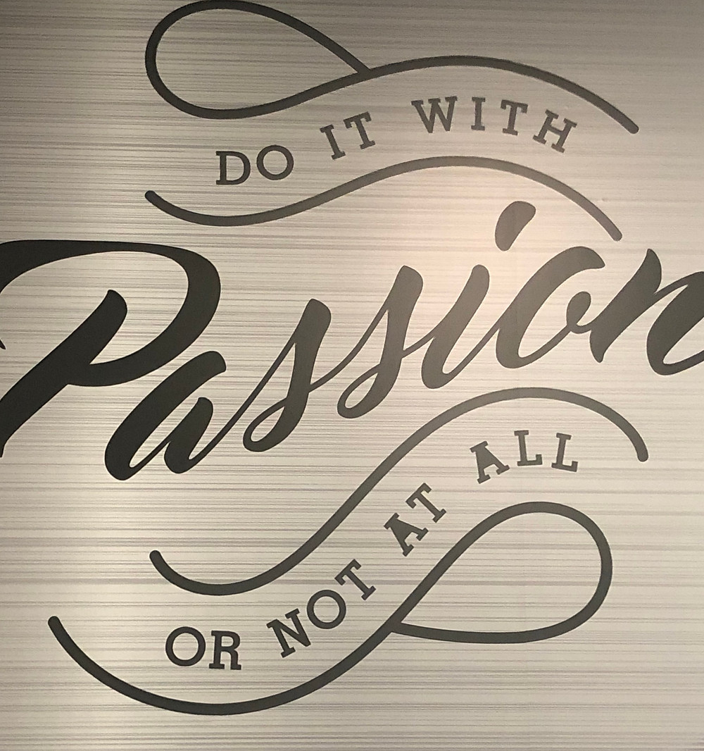 Doing it with passion...we are almost ready to show off our new line...stay tune!!!