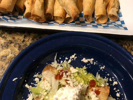 Cooking Smart Instapot Rolled Taquitos-Twice Over