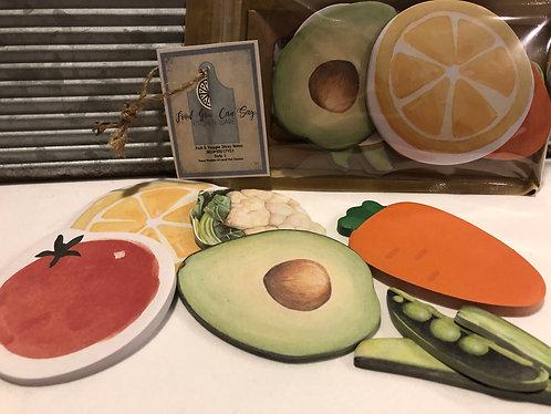 Kitchen Sticky Note Pad Collection Set I