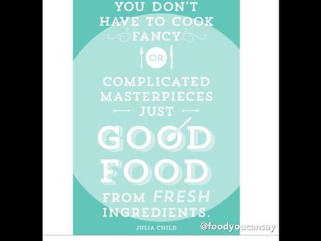 Good Eats...Eat Good