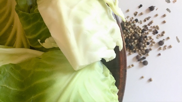 Cabbage and pickling spice