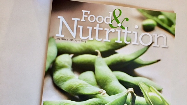 Cover picture of edamame on Food & Nutrition