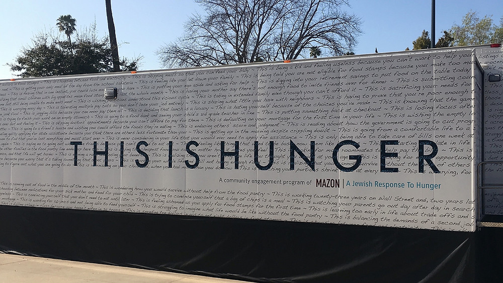 This is Hunger exhibit.