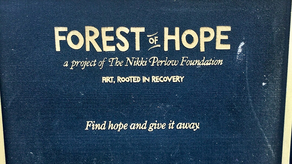 Forest of Hope message