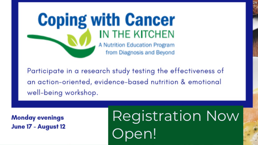 Nutrition workshop for cancer survivors