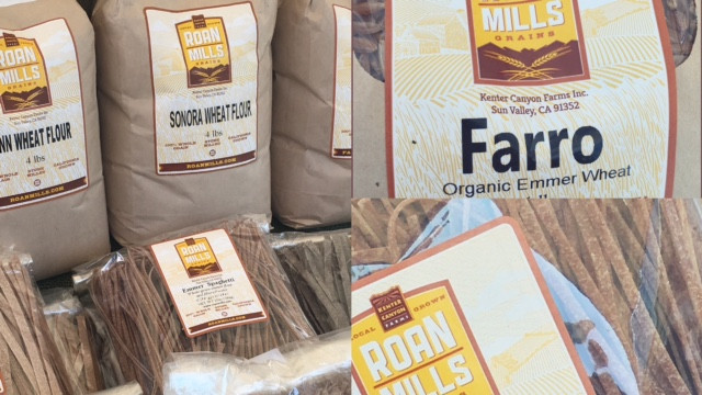 ancient grains can be found at the farmers markets