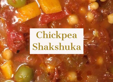 Chickpea Shakshuka, Vegan