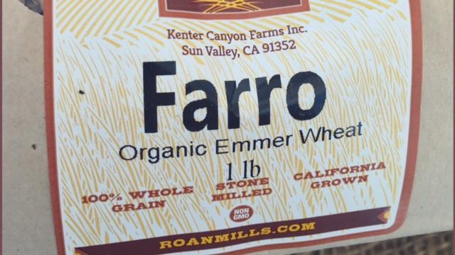 farro, an ancient grain