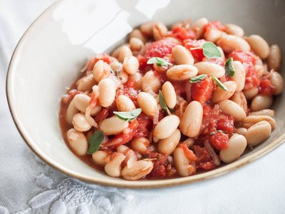 Simple Beans and Tomatoes recipe