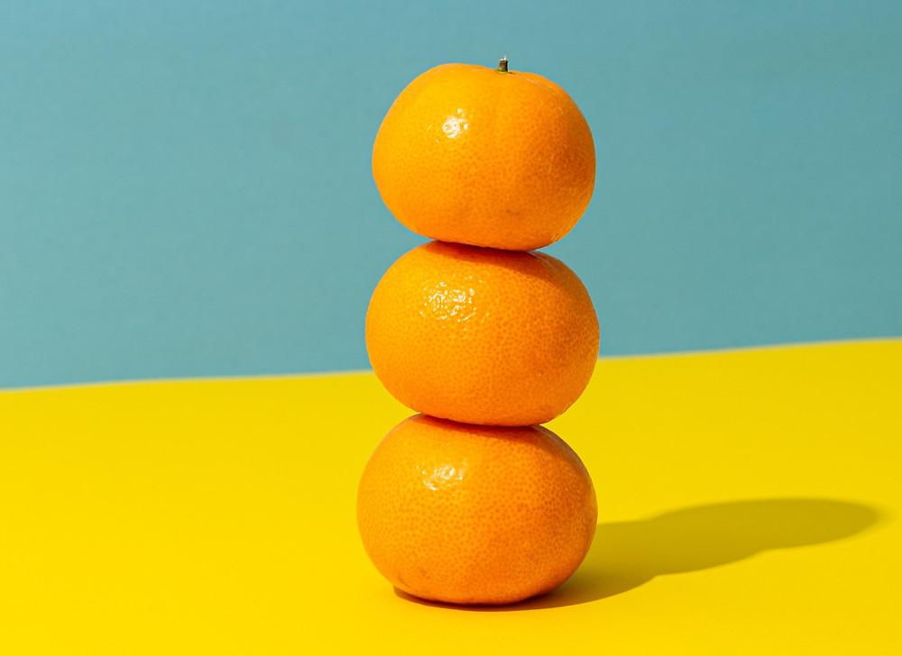 Tangerine snack