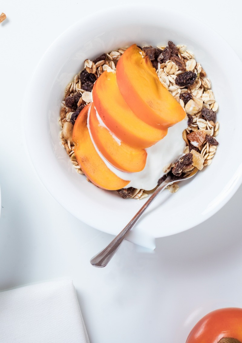 Fruit, nuts, and oats