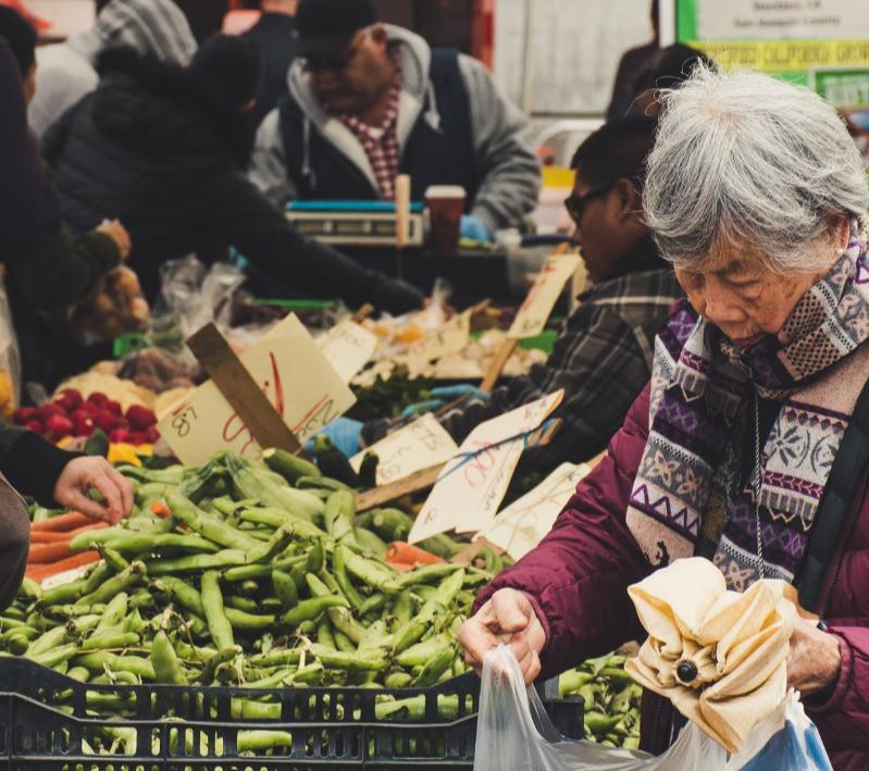 Farmer Market spring produce