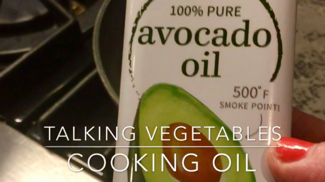 Avocado oil for high heat cooking