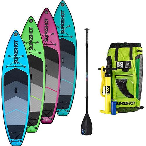 Slingshot Inflatable Crossbreed 11 x 34  w/adj. paddle