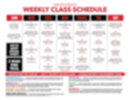 Weekly Class Schedule Virginia Beach.jpg