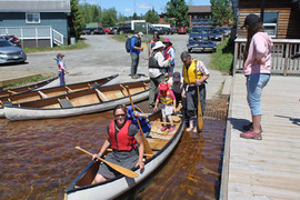 Canoe racers all set to go