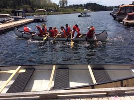 Rabaska Canoe Ride