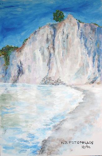 Scarborough Bluffs-2006-acrylic on canvas-24_ x 36_