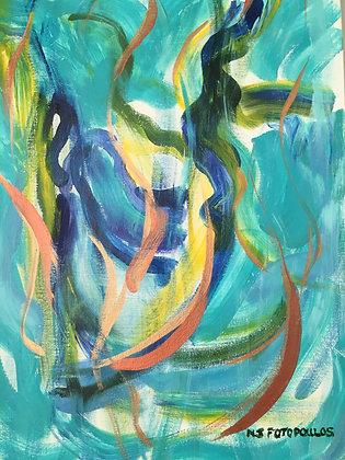 Abstract Art-Meditation-