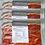 Thumbnail: Pack de 3. Lonchas de Berenjena adobada y curada. 3 paquetes de 100 gr cada uno.