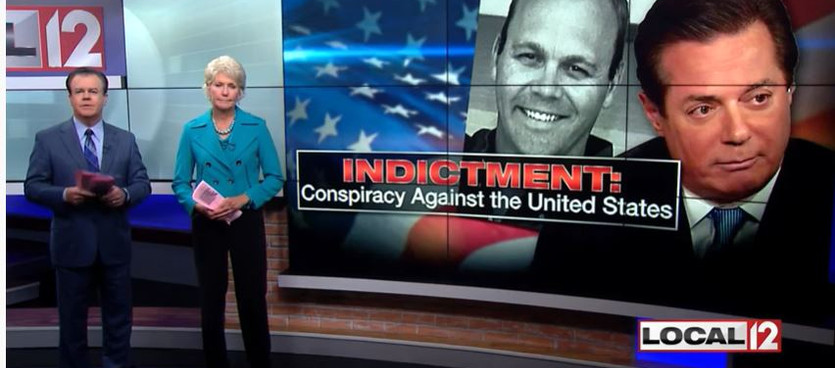 Local 12 - Mr. Dusingspeaking on the seriousness of the Paul Manafort Indictments