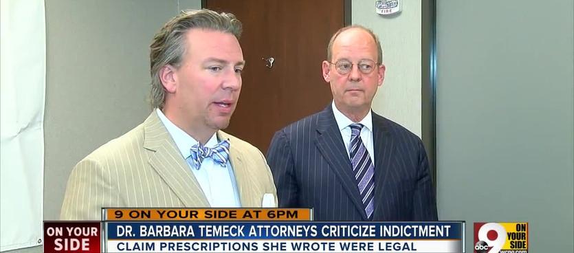 WCPO clip regarding indictment for former VA Chief Dr. Barbara Temeck