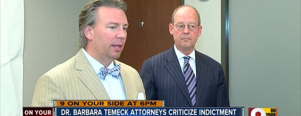 WCPO clip regarding indictment for former VA Chief Dr. Barbara Temeck