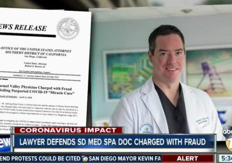 Lawyer defends Carmel Valley med spa doctor who's charged in COVID-19 fraud scheme