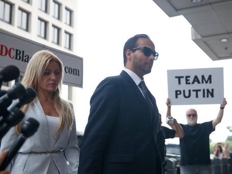 The 14 day sentence for Papadopoulos highlights disparities between offenses and sentencing.