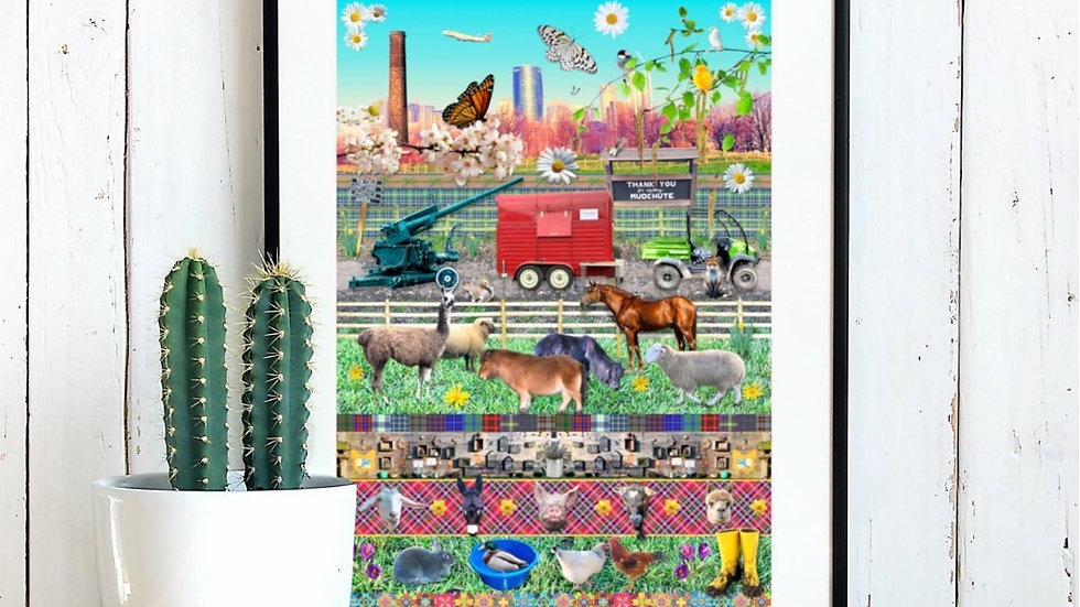 Mudchute Farm Art Print