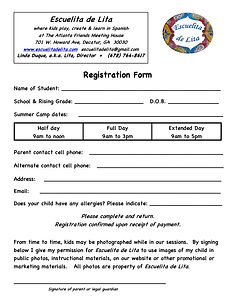 *NewSummerCamps_REGISTRATION*&PROMO form