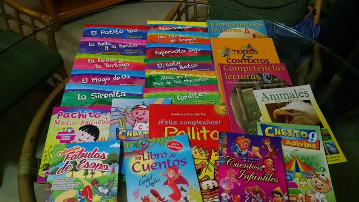 ¡Libros, muchos libros!
