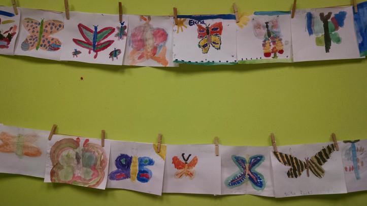 ¡Las mariposas vuelan!