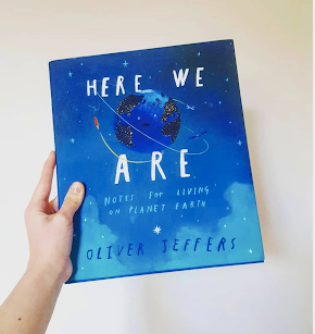 Check out our Children's Book Review for 'Here We Are'